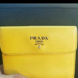 PRADA SAFFIANO wallet/card holder